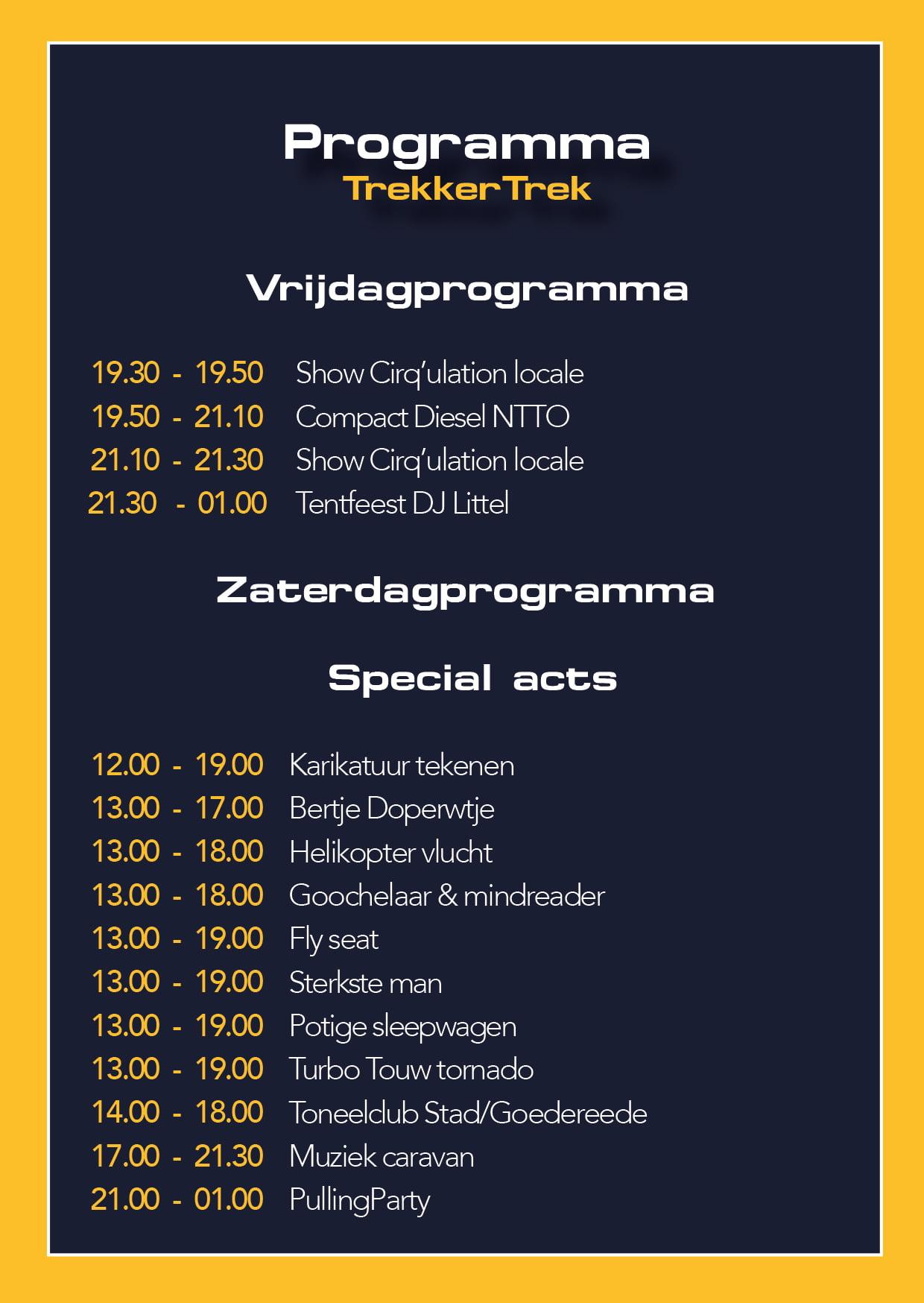 Dag Programma TT-2
