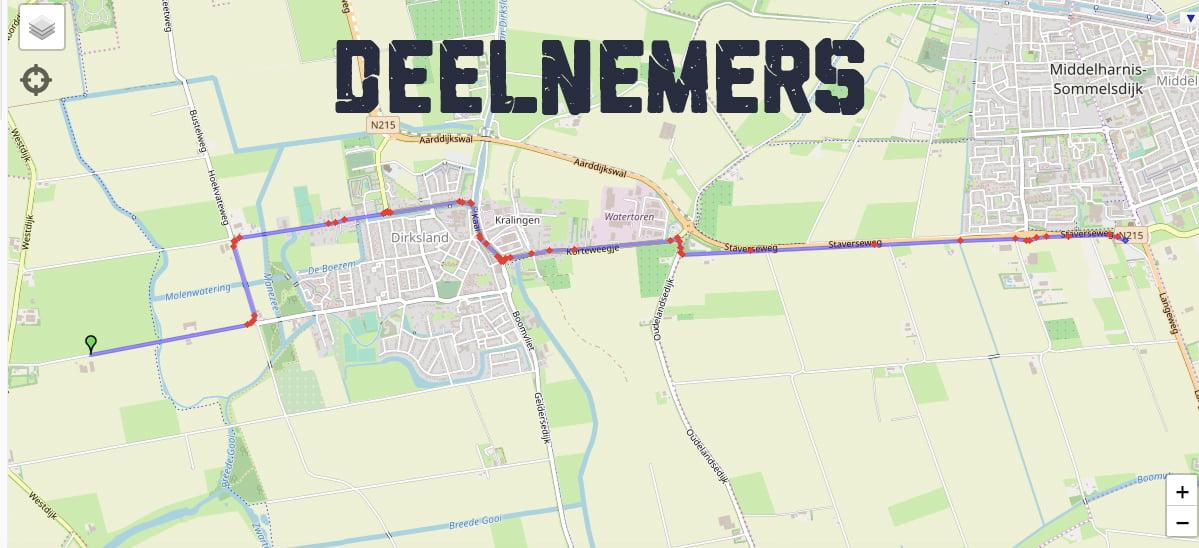 Route Deelnemers Middelharnis_SITE